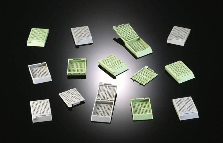 Processing & embedding biopsy cassette