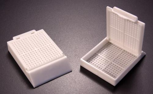 Polypropylene processing & embedding tissue cassette