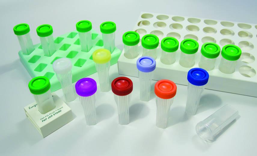 Pap Jar for In-Situ Hybridisation, Green Cap, Sterile