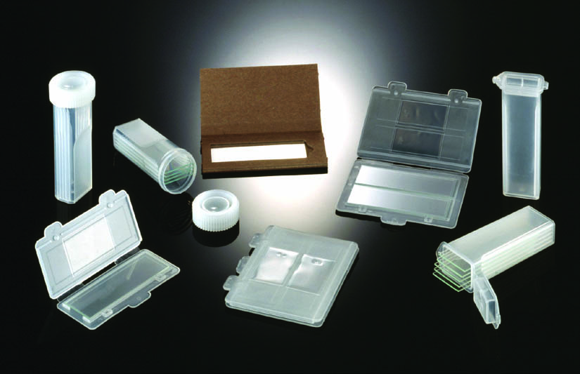 One Slide Mailer, Clear